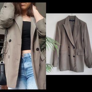 Zara olive green blazer M